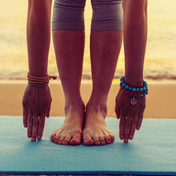 edzés lány jóga