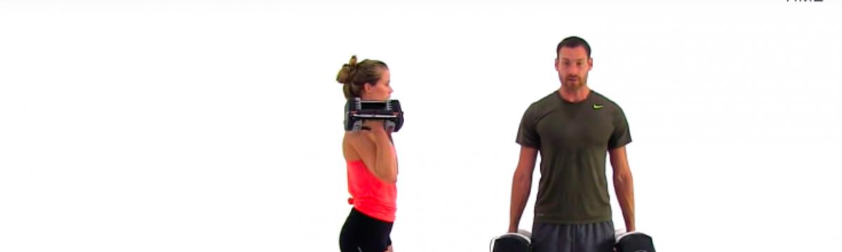 edzés videó részlet comb edzés