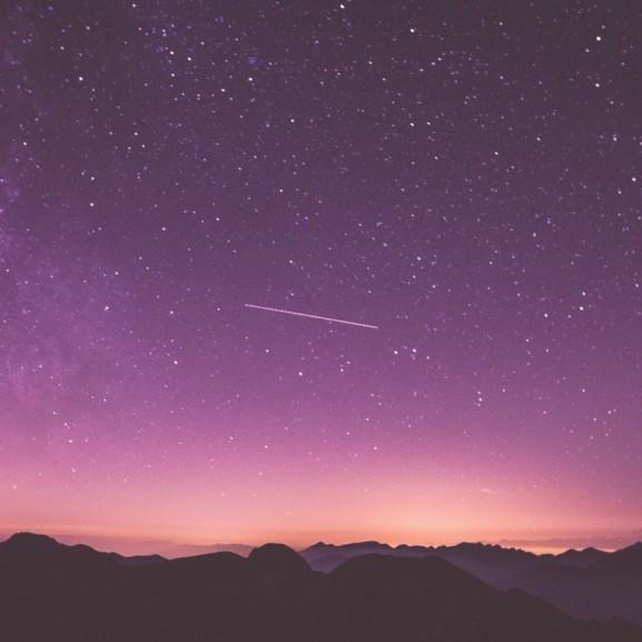 égbolt, meteor