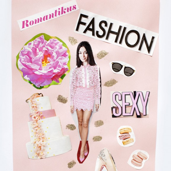 Elborult VOUS-lány Vogue címlapok