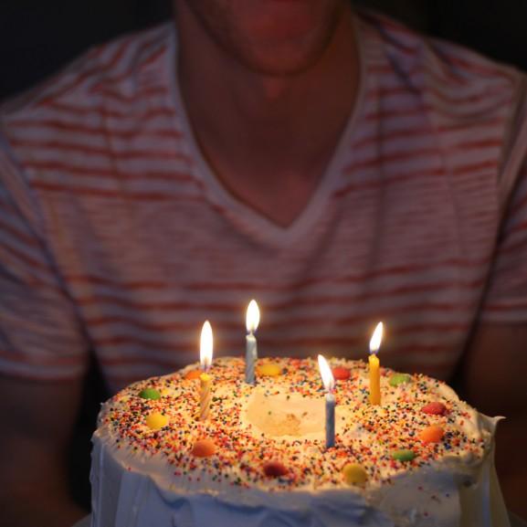 életkor születésnap torta