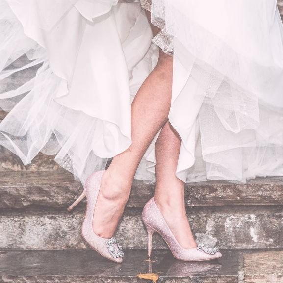 esküvő cipő menyasszony
