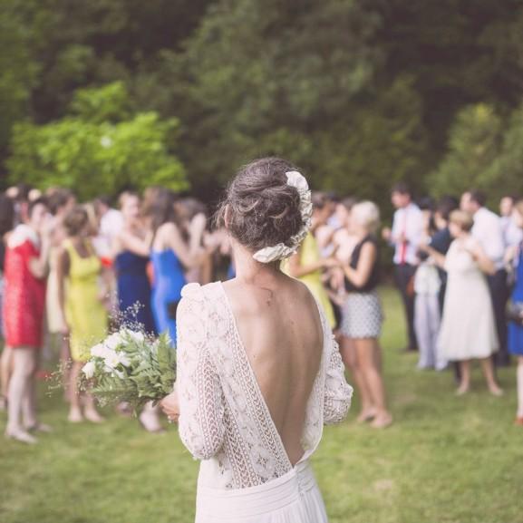 esküvő menyasszony