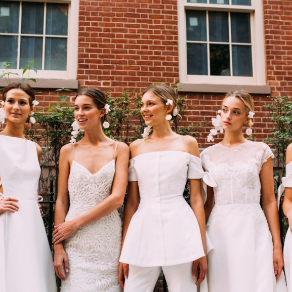 esküvői ruha trend 2018 bridal fashion week