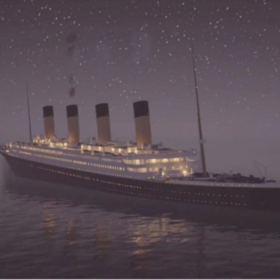 Azta! Újra elsüllyedt a Titanic!