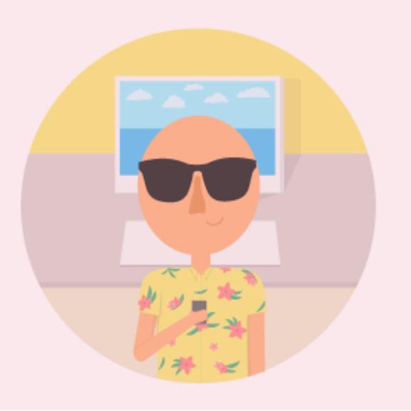 Így hitessétek el az irodából, hogy éppen nyaraltok!