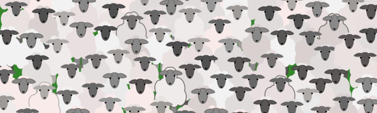 Dudolf újra jelentkezett: megtaláljátok a kecskét a bárányok között?