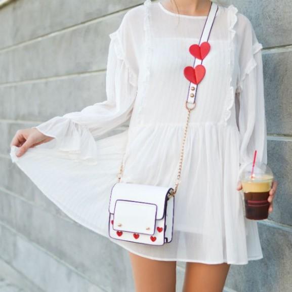 fehér ruha stílus