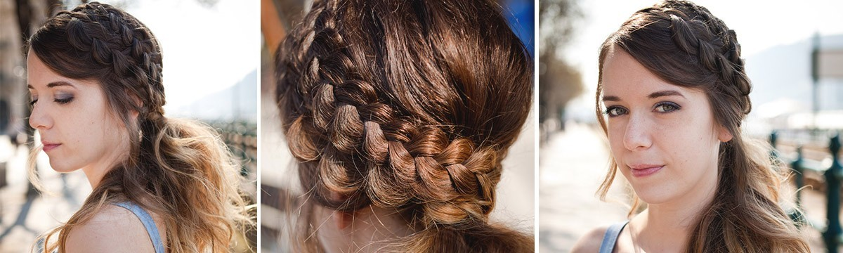 Fonott frizura Trónok harca filmsorozat alapján Daenerys
