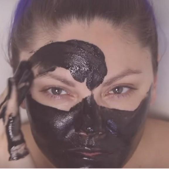 fürdősó maszk nő