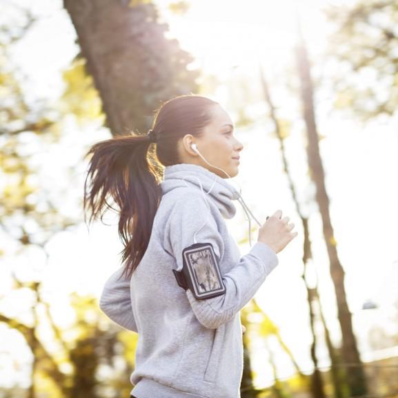 futás edzés nő ősz