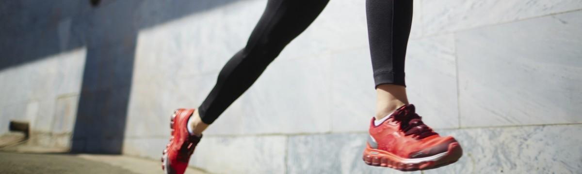 futás lány edzés