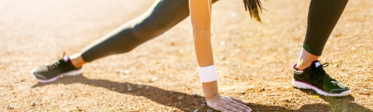 futás lány nyújtás