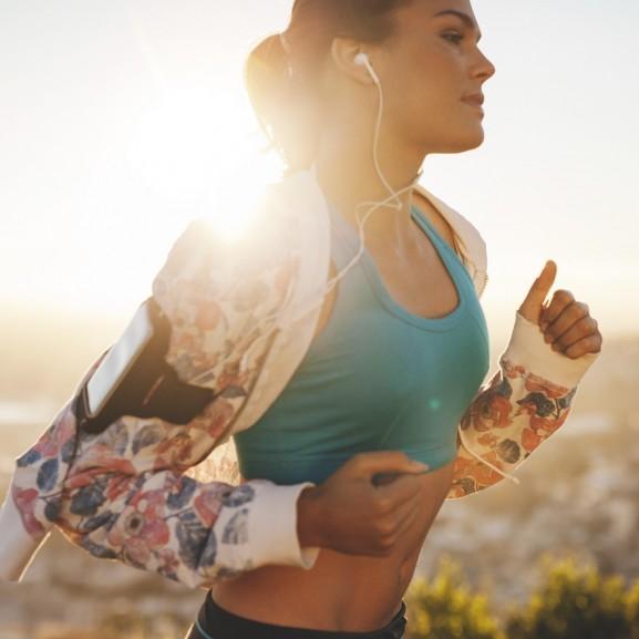 futás szabad edzés levegő odakint