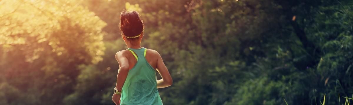 futás természet sport