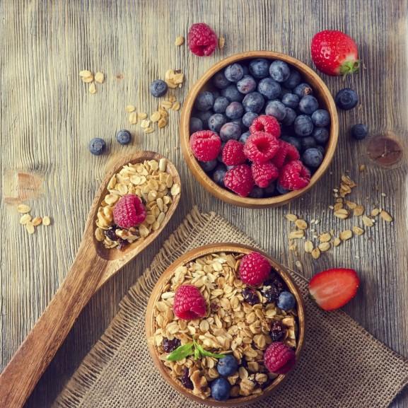 granola müzli reggeli