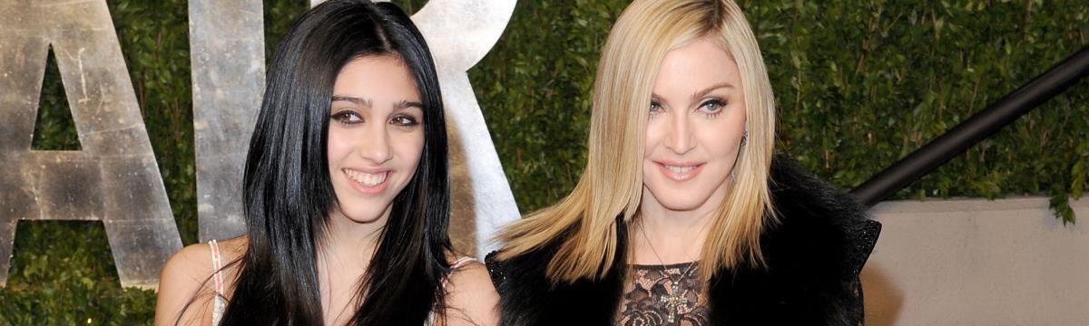 Madonna gyönyörű nővé érett lánya modellszerződést kapott