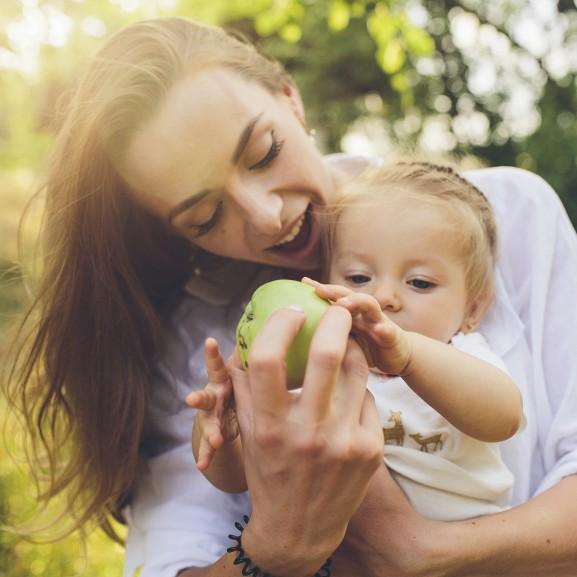 gyerek család egészséges életmód