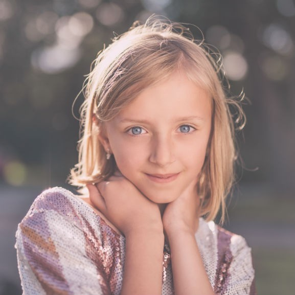 gyerek kék szem