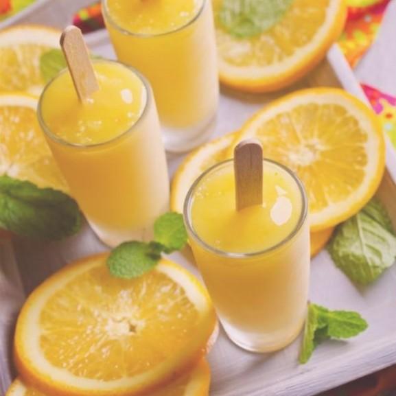 gyomberes narancsfagyi fagyasztott smoothie
