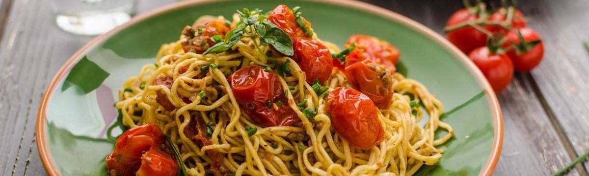 Gyors paradicsomos spagetti, ami jókedvre derít