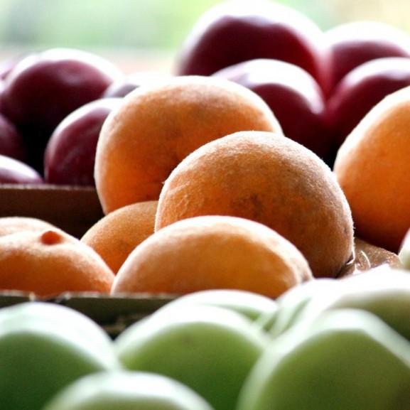 gyümölcsök és zöldségek piac
