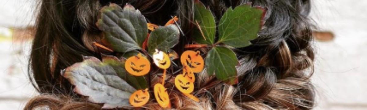 haj halloween frizura