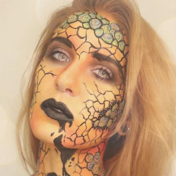 halloween smink inspiráció