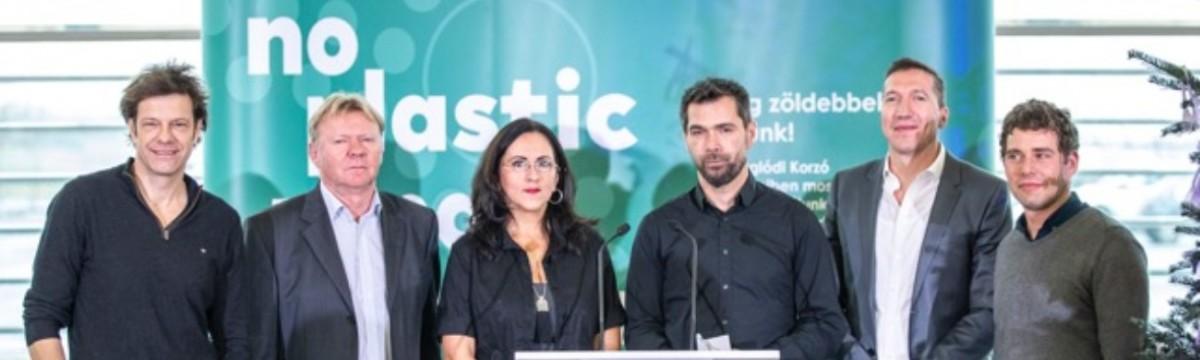 Hatalmas lépés a műanyagszennyezéssel szemben! - Műanyagmentessé vált a maglódi Korzó ételudvara!