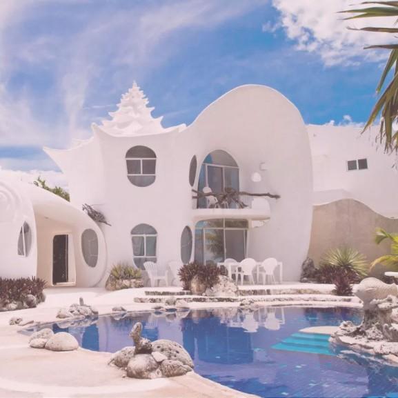ház kagyló airbnb