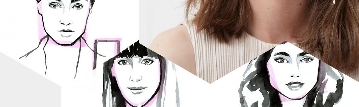 Így válasszatok fülbevalót az arcotokhoz illően!  montázs engel nóra