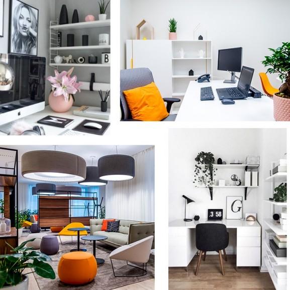 Irodadesign a lakásban, lakásdesign az irodában