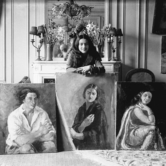 Ismerjétek meg az indiai Frida Kahlót, a magyar származású Amrita Sher-Gilt