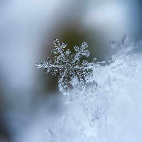 jég hideg fagy hó havazás