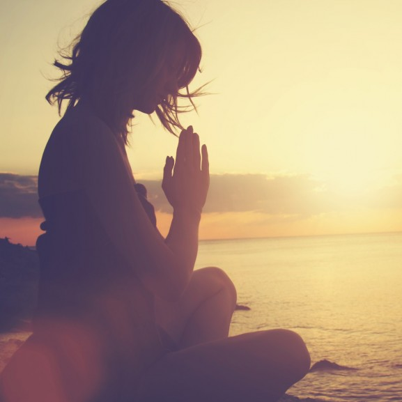 jóga természet meditálás