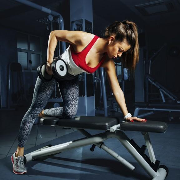 kar edzés lány