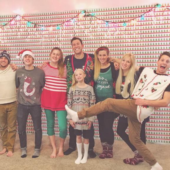 karácsonyi tánc család