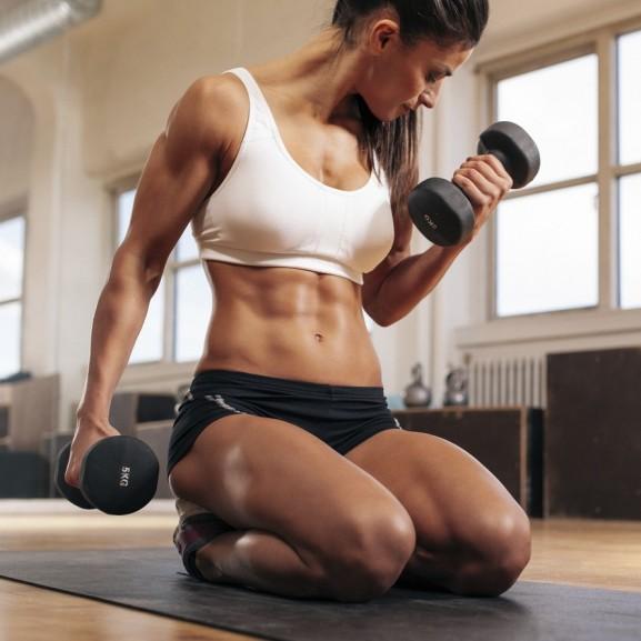 karok edzés súlyzó