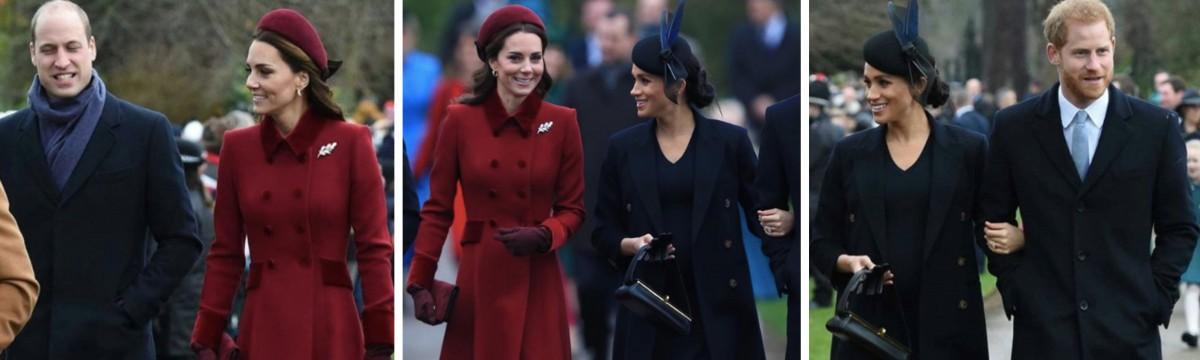 Katalin hercegné és Meghan hercegné
