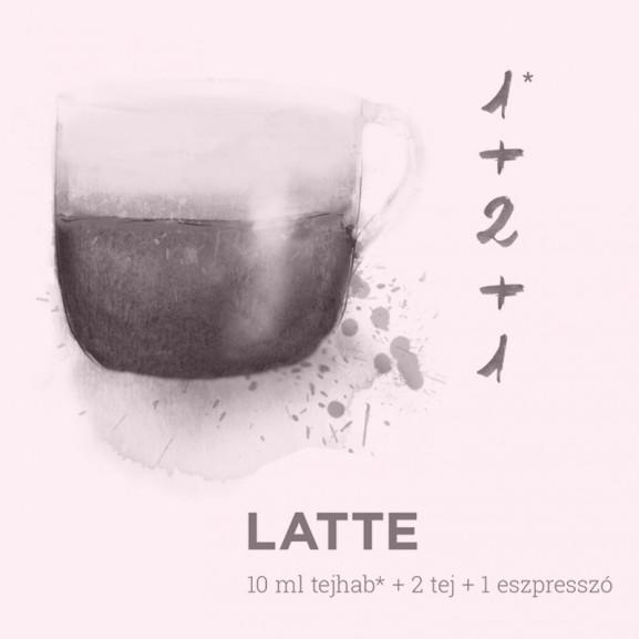 kávé grafika Karácsonyi Panka