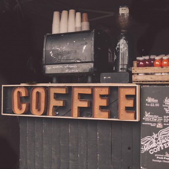 kávézó kávé