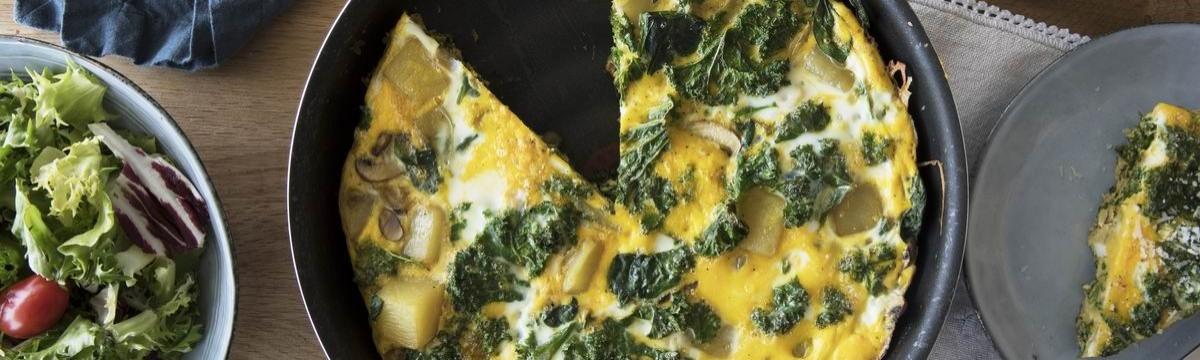 Kelleveles omlett - fehérjedús és szuperegészséges