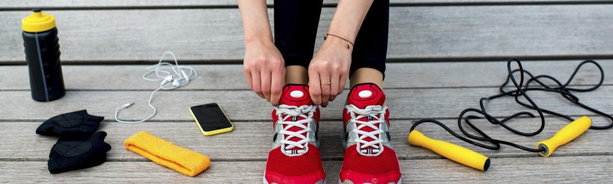 készülődés cipő eszközök sport