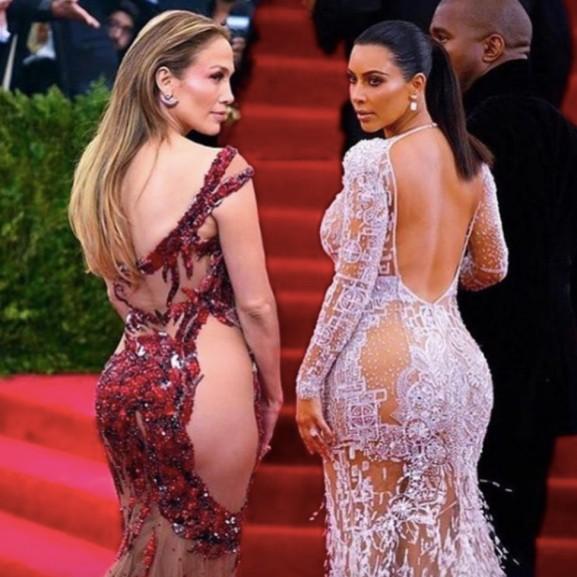 Kim Kardashian Jennifer Lopezzel pizsibulizott