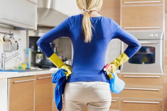 Konyha takarítás. Női feladat?