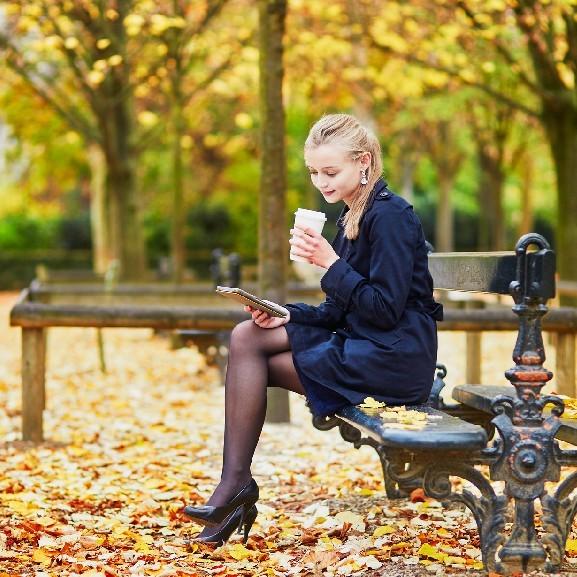 könyv olvasás október ősz