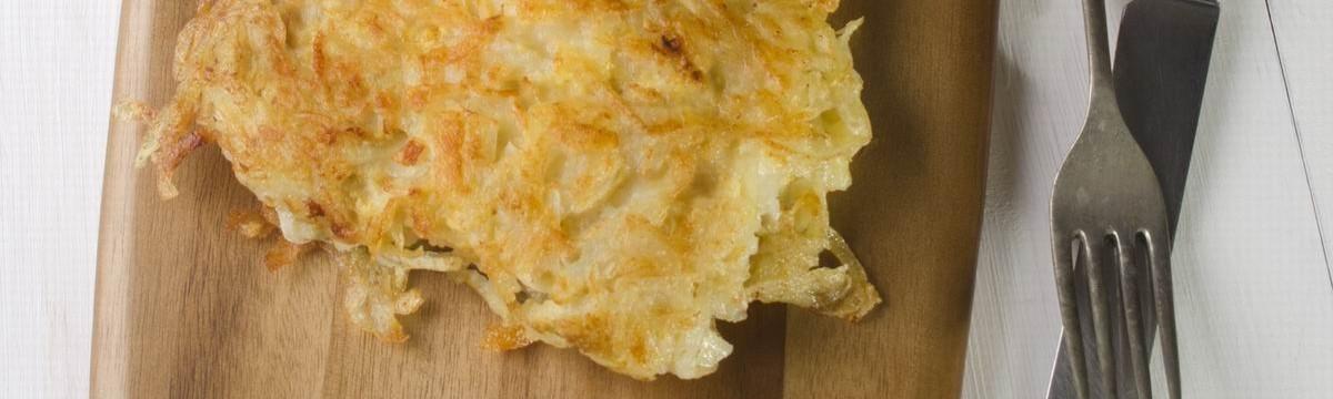 Krumplibundában sült halfilé egészségesebben, tepsisen