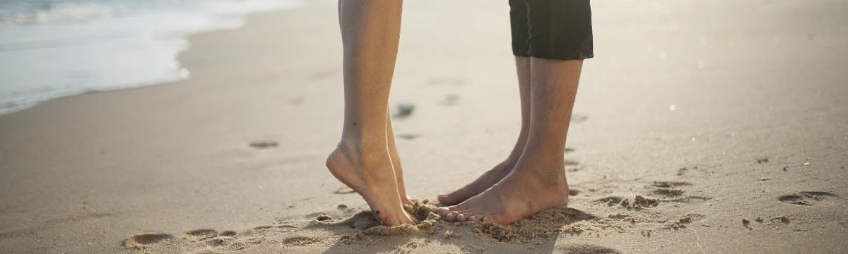 láb tengerpart