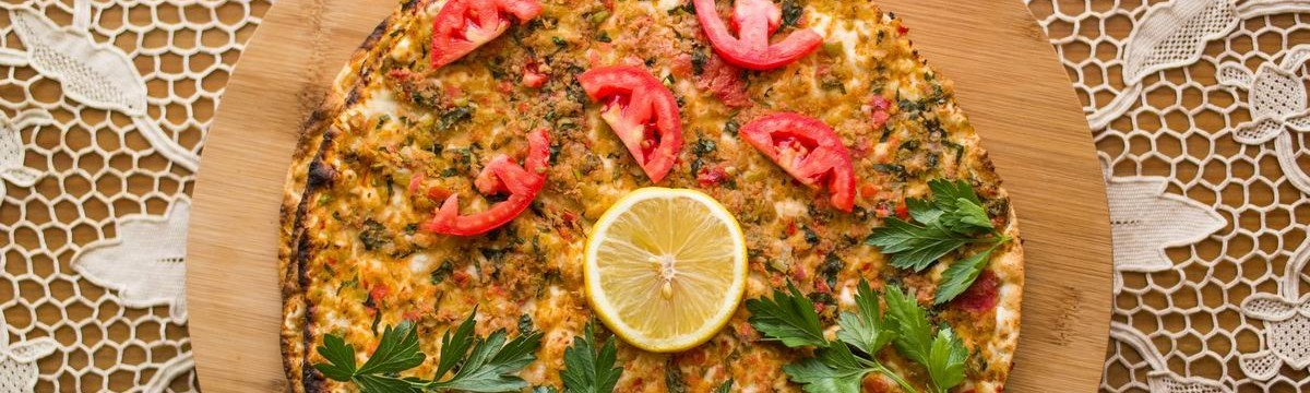 Lahmadzsun örmény pizza lepény