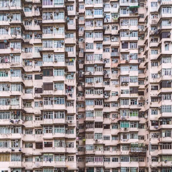 lakás, lakótelep